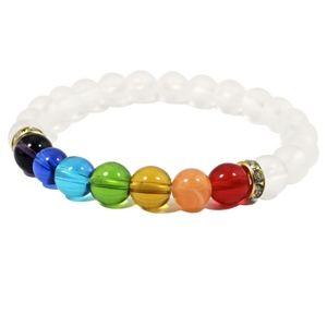 Jewelry - SOON 7 Chakra Mala Prayer Crystal Stone Bracelet